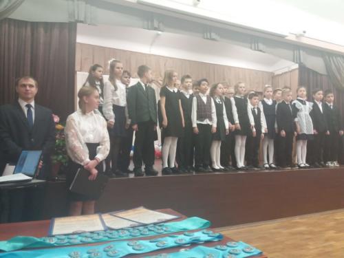 24 октября 2019 - Посвящение в гимназисты.
