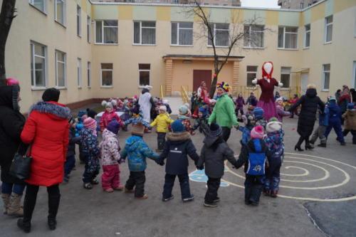 28 февраля наши ребята стали участниками проводов Масленицы