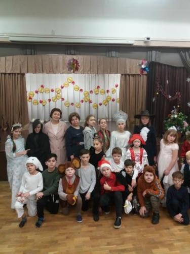 Новогодний спектакль «Сказочный переполох»
