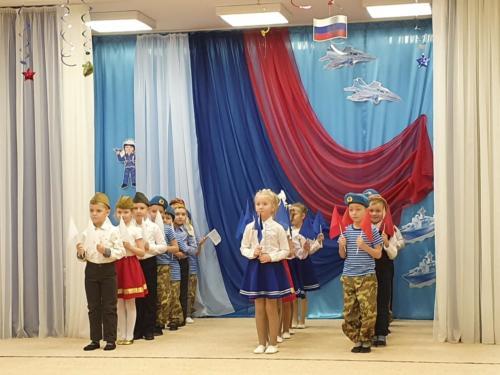 Музыкально-спортивное развлечение, посвященное Дню защитника Отечества