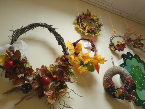 Выставка «Осенний венок»